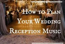 Reception music / Need some ideas for picking first dance songs, entrances, exits, or just simply dance songs? Take a look at this board for some inspiration!