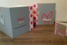 Opbergboxen geboortekaartje / Opbergboxen van hout (30*30*30cm). Het geboortekaartje wordt op de box geschilderd.