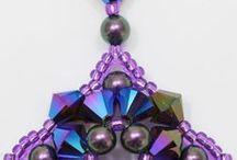 fülbevalók / gyöngyből készült ékszerek