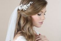 Wedding Hairstyles / Beautiful hairstyles for the big day!