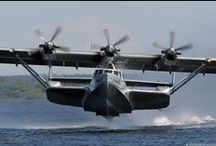 Flying Boats, Seaplanes, Amphibians & Floatplanes