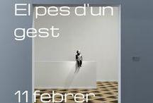 El pes d'un gest / De l'11 de Febrer al 1 de Maig de 2016 al Caixaforum de Barcelona. La mirada de Juliao Sarmento a les col.leccions d'art contemporani de la Fundació Gulbenkian de Lisboa, MACBA i La Caixa.