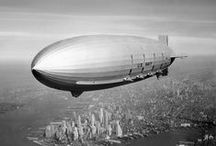 Ships of the air / Airships and zeppelins past, present... and future.