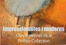 Impressionistes i moderns / Obres mestres de la Phillips Collection Aquesta nova exposició recorrerà els noms dels principals mestres de la pintura des del romanticisme fins a l'expressionisme abstracte a través de les obres de Manet, Courbet, Sisley, Van Gogh, Degas, Picasso, Modigliani, Kandinski, Pollock i Rothko, entre d'altres, totes procedents de la Phillips Collection, una de les col·leccions més grans dels Estats Units en art modern i avantguardes.
