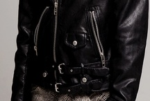 Leather & Studs / Leather, studs; bad boy style.