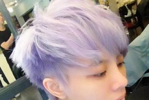 Hair / Wanna try something cool? Or wanna try something shocking? I think blue or purple hair is very nice!