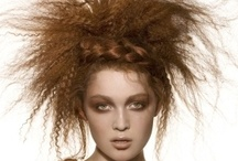 Hair styling fashion