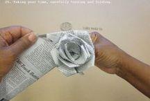 Bloemen... zelf maken / by Aletta Heij