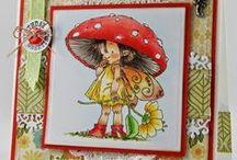 Cards cute girls / by Aletta Heij