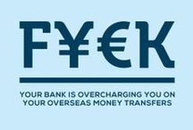 TransferWise Creative Snapshot / Here's a taste of some of the creative output at TransferWise. Sorry banks.