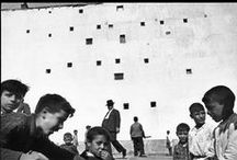 H e n r i . C a r t i e r - B r e s s o n / Henri Cartier-Bresson (1908-2004) was a French photographer considered to be the father of photojournalism. He was the master of candid photography and an early user of 35 mm film. / by Little.Rice (米米)