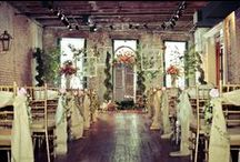 Sample Ceremony Concepts / Use some of these ideas and concepts when planning your wedding in any of the spaces that we can provide for rental!