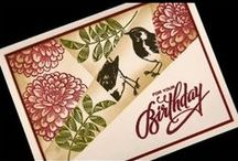 Cards stamping tutorials/tips & videos / by Aletta Heij
