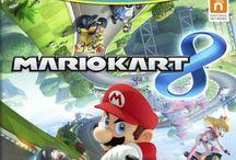 lets play Mario Kart 8 (WII U)