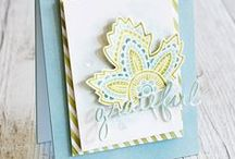 Stampinup Lighthearted Leaves