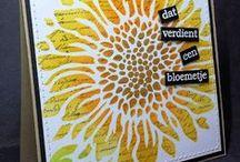 Leuke Stempels dt-kaarten gemaakt door Aletta / by Aletta Heij