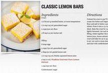 J.R Watkins Recipes / Some great recipes using J.R Watkins products