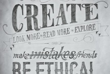 Typography / by Andy Logan