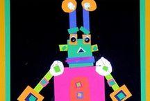 Robots Knutselideeën