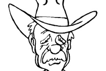 Cowboys Kleurplaten