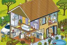 Huizen Digibord