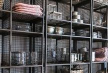 Industrial Styling / Furniture & Accessories to bring a hit of Industrial Chic to your home/workspace @ designvintage.co.uk