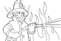 Brandweer Kleurplaten