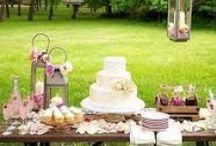 Garden party ideas / Ideas for a cute outdoor party. #birthday #wedding #simple outdoor #lunch etc.