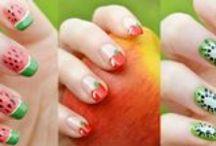 Fruit Nail Designs / Yummy nails :)