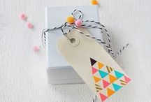Present wrappings / Ideas to wrap gifts or presents