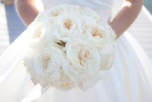 All White classic bouquets / Classic and chic bouqets .... Timeless