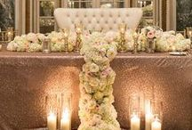 Bride and Grooms table / Show stopper