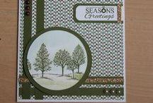 Stampin up Kerst / Kerst kaarten gemaakt met Stampin Up materiaal