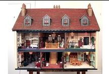 Miniature houses / Houses for dolls