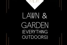 Lawn and Garden / DIY Projects, grass maintenance,  garage organization, house paint colors, plants