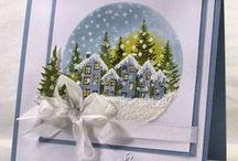 Ideeën voor Kerstkaarten / Voorbeelden van kerstkaarten