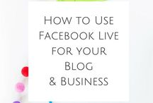Facebook // Marketing / Learn the latest Facebook marketing strategies and tools to help you market your online business on Facebook.