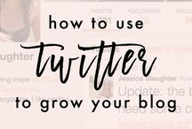Twitter Tips / Twitter tips and how to utilize this social media platform to boost your small business or blog.