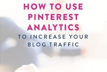 Pinterest // Marketing Tips / How to use Pinterest to grow your blog or online business. This board is filled with Pinterest tips, tutorials, and strategies to help you get more traffic to your blog with Pinterest.