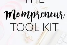 Mompreneur // Tips / Pinning all the best mompreneur tips and resources for mom bloggers.