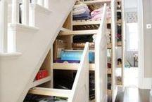 decor: organization / Ideas and inspiration for home organization