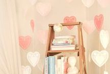 holiday: valentine's day / Ideas and inspiration for Valentine's Day-themed home decor and party food