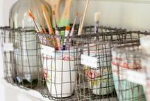 decor: studio spaces / Spaces where we create and produce