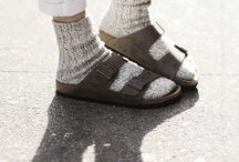 FASHION: Winter Birk's / Is it possible to wear these sandals in winter? I love them so much!