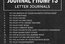 journal / writing