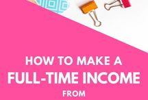 Passive Income // Resources / Learn how to create passive income for bloggers or online business owners.