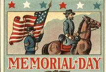 Memorial Holidays / Holidays based around remembering those who have passed on, or sacrificed with their lives.