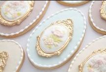 [ Cake ] / ℳarie Antoinette, Baroque, Rococo, Let them eat cake, Glitter, Cakes, Macaroons, Laduree, Juicy couture  ♔♔♔ / by Design Candy