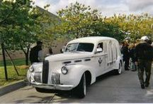 Hearses & Funerary Carriers / Hearses and other carriages for transporting the deceased for funeral services