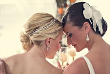 The Loading Dock Wedding Inspiration / Wedding hair and makeup by Dana Bartone & Co | Wedding Hair Styles | Wedding Makeup | Airbrush Wedding Makeup